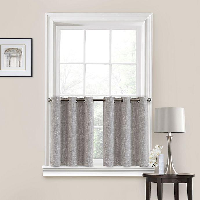 Grommet Kitchen Curtains: Buy Quinn 36-Inch Grommet Kitchen Window Curtain Tier Pair