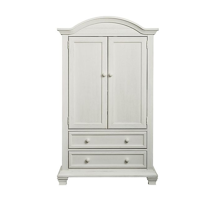 Oxford Baby Cottage Cove Armoire In Vintage White Buybuy