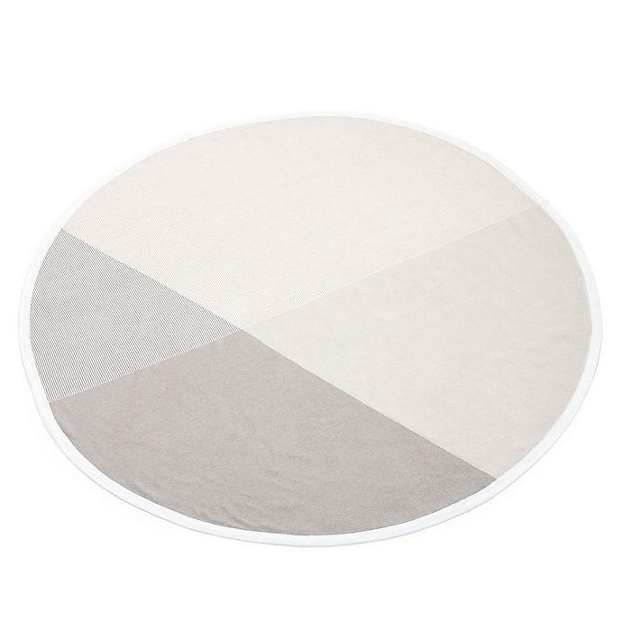 Alternate image 1 for Stokke® Round Organic Cotton Blanket