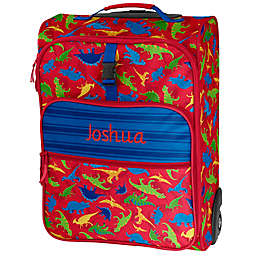 Stephen Joseph® Dino Embroidered Rolling Luggage in Red/Blue