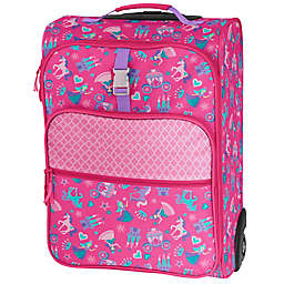 Stephen Joseph® Princess Rolling Luggage in Pink