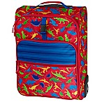 Stephen Joseph® Dino Rolling Luggage in Red/Blue