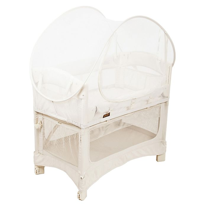 Alternate image 1 for Arm's Reach® Mini Co-Sleeper® Bassinet Canopy in White