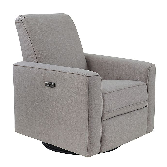 Alternate image 1 for Westwood Design Aspen Swivel Power Glider and Recliner with Built in USB in Sand