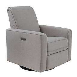 Westwood Design Aspen Swivel Power Glider and Recliner with Built in USB in Sand
