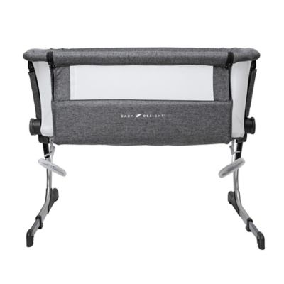 Baby Delight Beside Me Dreamer Bassinet & Bedside Sleeper In Charcoal Grey by Bed Bath And Beyond