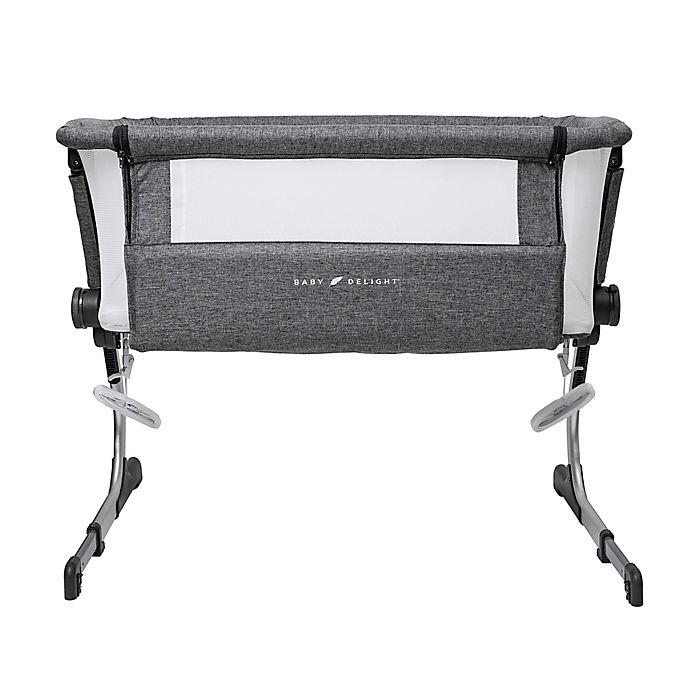 Alternate image 1 for Baby Delight Beside Me Dreamer Bassinet & Bedside Sleeper in Charcoal Grey