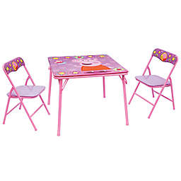 Peppa Pig 3-Piece Activity Table in Pink
