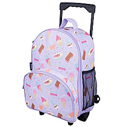 Wildkin Sweet Dreams Rolling Luggage in Purple
