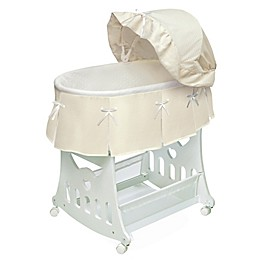 Badger Basket Portable Short Skirt Bassinet