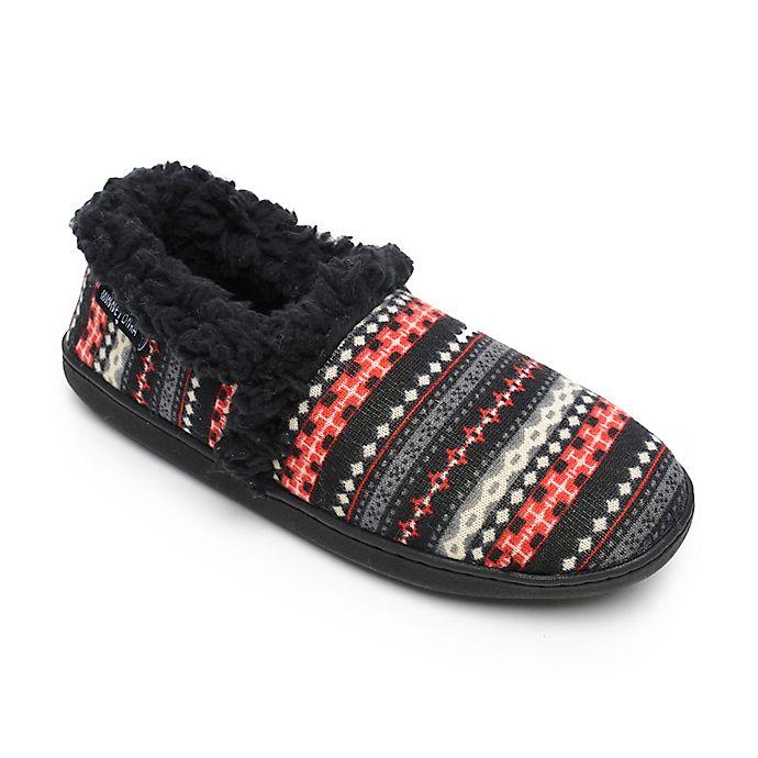 Alternate image 1 for Minnetonka® Dina Women's Small Knit Slipper in Black