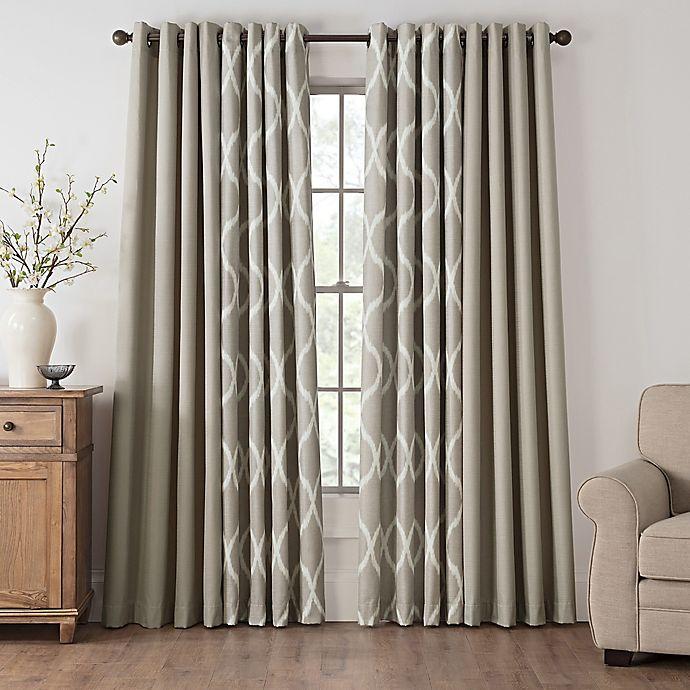 Alternate image 1 for Draftblocker Easton Grommet Room Darkening Window Curtain Panel