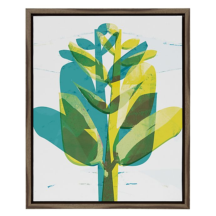 Alternate image 1 for Funky Plant I 16-Inch x 20-Inch Framed Wall Art