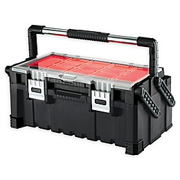 Keter Cantilever Tool Box 22 in Black/Red