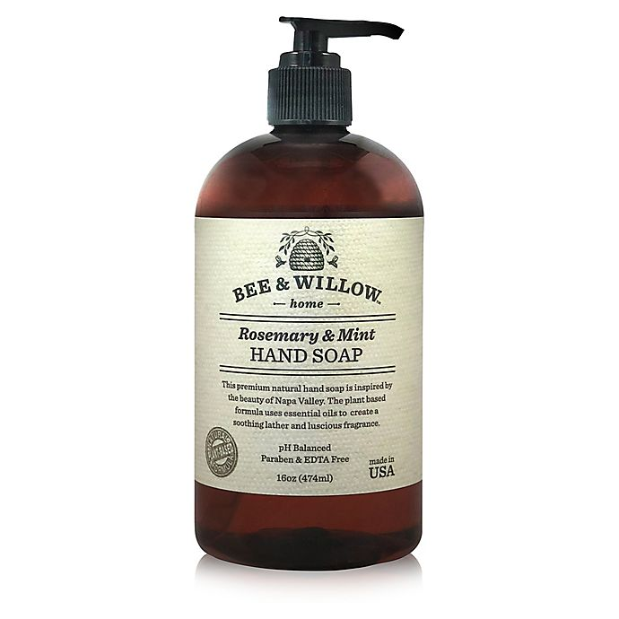 Alternate image 1 for Bee & Willow™ Home 16 oz. Rosemary & Mint Hand Soap