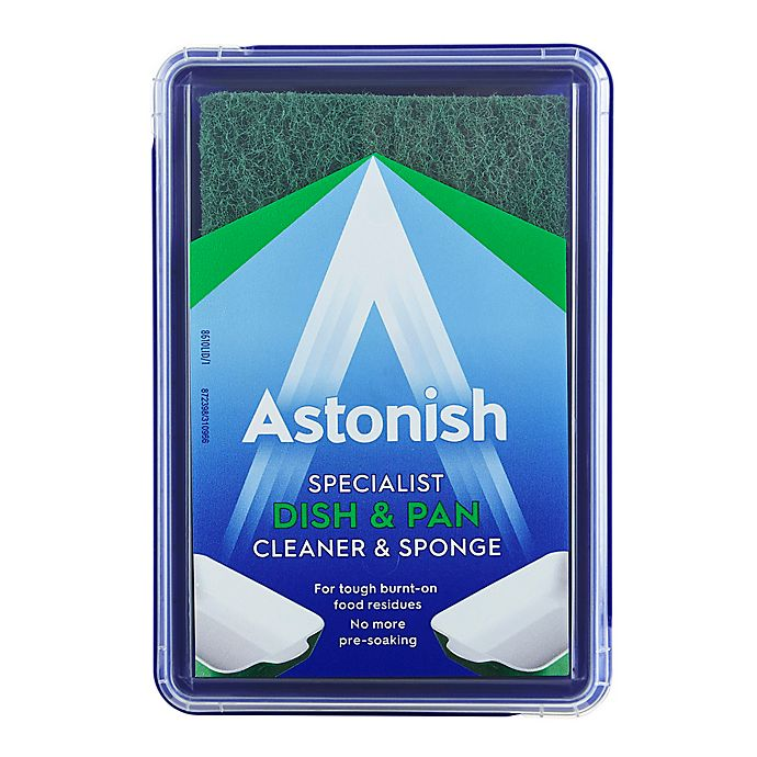 Alternate image 1 for Astonish Specialist Dish & Pan Cleaner & Sponge (250g)
