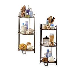 3 Tier Corner Storage Shelf
