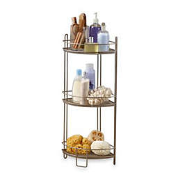 3-Tier Corner Storage Shelf