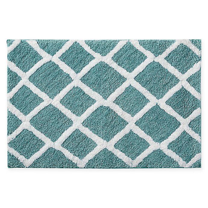 Microfiber Towels Bed Bath And Beyond: Madison Park Bittman Reversible Microfiber Bath Rug