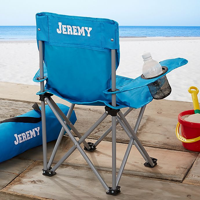 Alternate image 1 for Toddler Personalized Folding Camp Chair