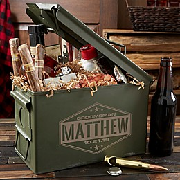 Groomsman Personalized Ammo Can