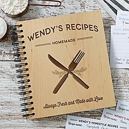 Farmhouse Kitchen Recipe Book in Brown