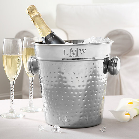 Alternate image 1 for Classic Celebate Engraved Chiller and Ice Bucket