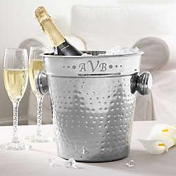 Hampton Collection Monogram Personalized Chiller & Ice Bucket
