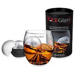 On the Rock Glass with Ice Ball