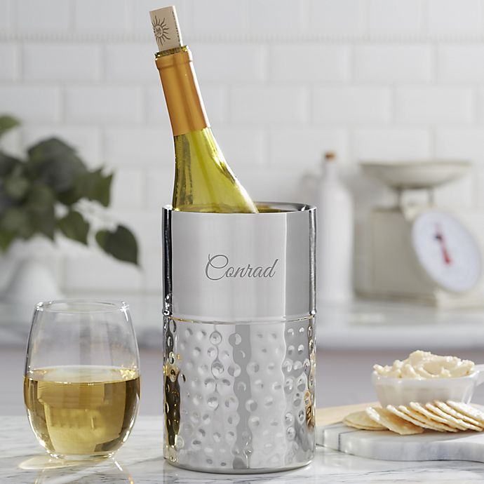 Alternate image 1 for Hampton Collection Personalized Wine Chiller