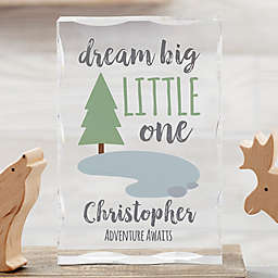 Woodland Adventure Trees Colored Personalized Keepsake
