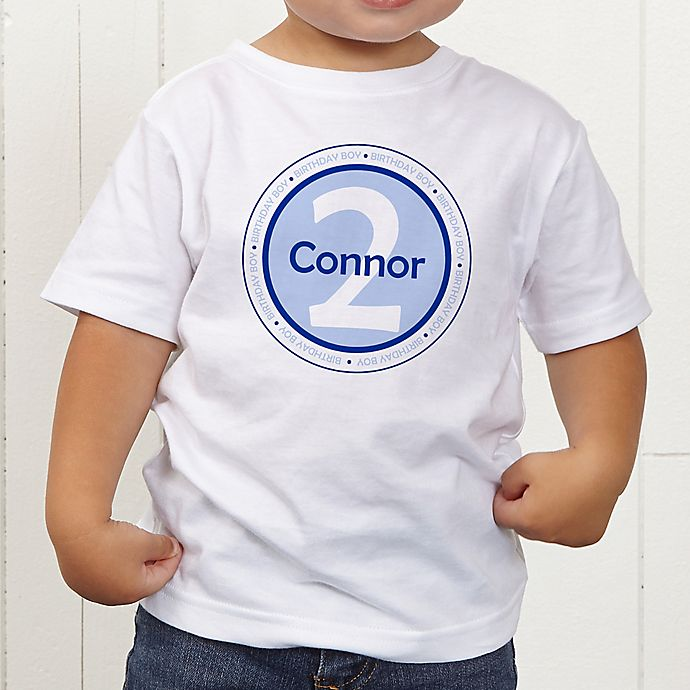 Alternate image 1 for It's Your Birthday! Personalized Toddler T-Shirt