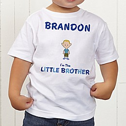 Brother Character Personalized Toddler T-Shirt