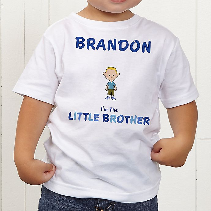 Alternate image 1 for Brother Character Personalized Toddler T-Shirt