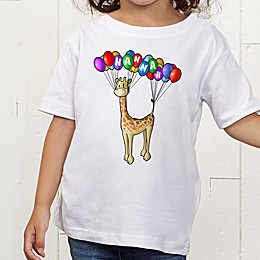 Floating Zoo Personalized Toddler T-Shirt