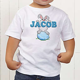 Bunny Love Personalized Toddler T-Shirt