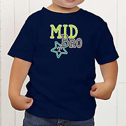 Big/Mid/Lil Sibling Personalized Toddler T-Shirt
