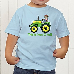Tractor Time Personalized Toddler T-Shirt