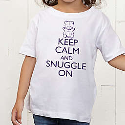 Keep Calm Personalized Toddler T-Shirt