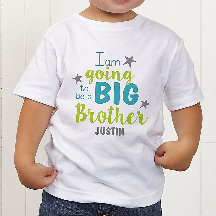Alternate image 1 for I'm Going To Be...Personalized Toddler T-Shirt