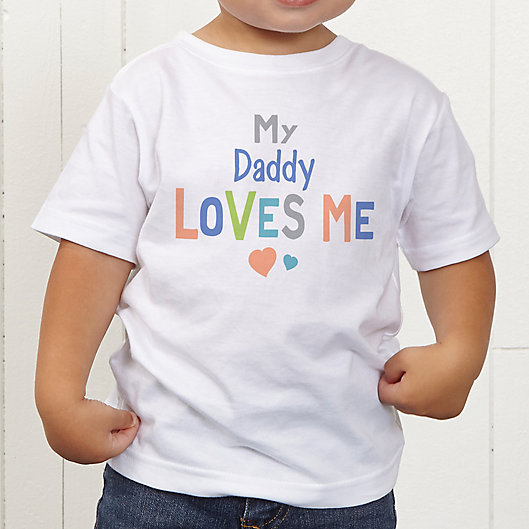 Alternate image 1 for You Are Loved Personalized Toddler T-Shirt