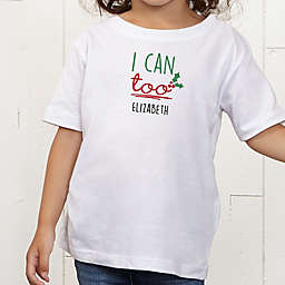 Dear Santa Personalized Toddler T-Shirt