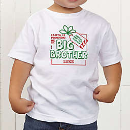 Promoted By Santa Personalized Toddler T-Shirt
