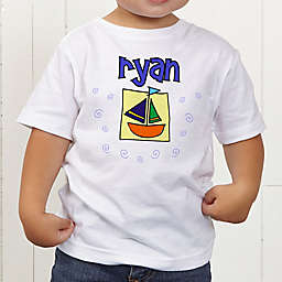 He's All Boy Personalized Toddler T-Shirt
