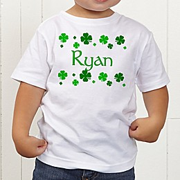 Lucky Clover Personalized Toddler T-Shirt