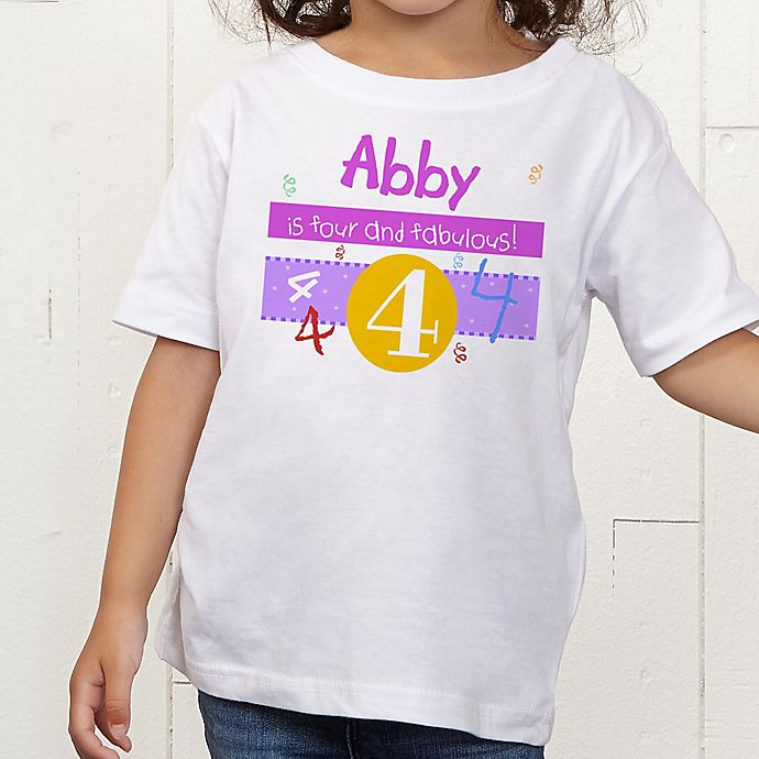 Alternate image 1 for What's Your Number? Personalized Toddler T-Shirt