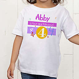 What's Your Number? Personalized Toddler T-Shirt