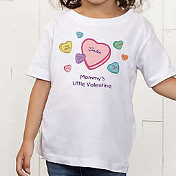 Little Valentine Personalized Toddler T-Shirt