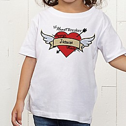 Heartbreaker Personalized Toddler T-Shirt