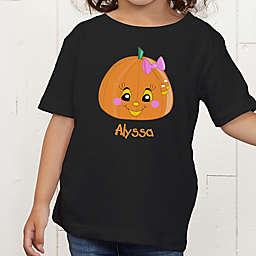 Miss Pumpkin Personalized Toddler T-Shirt